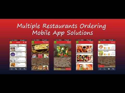 Multiple restaurant ordering mobile app source code youtube multiple restaurant ordering mobile app source code forumfinder Choice Image
