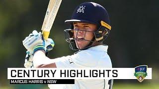 Harris scores third Shield final century