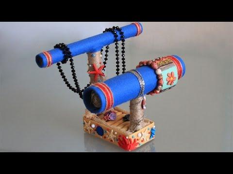 DIY Подставка для бижутерии своими руками