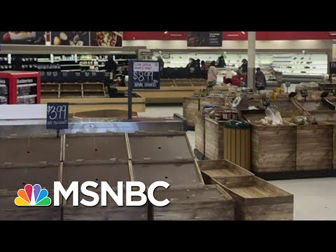 Texas Grocery Stores, Food Banks Struggle With Supply Shortage | The Last Word | MSNBC