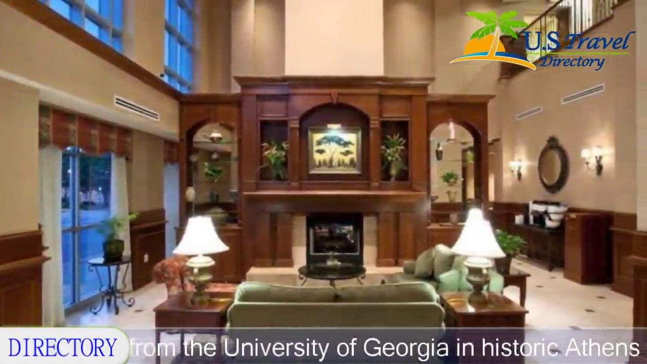 Hilton Garden Inn Athens Downtown Athens Hotels Georgia Youtube