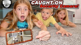 Caught On Security Camera 12 Foot SKELETON Inside Tannerites HOUSE While Playing Hide N Seek!