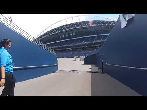 Behind the Scenes of Century Link Stadium (Stadium Tour)
