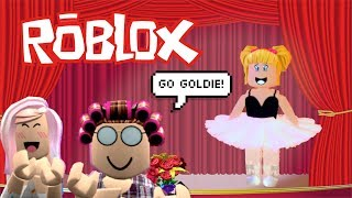 Baby Goldie First Ballet Recital in Roblox! She is so Nervous! Bloxburg Roleplay