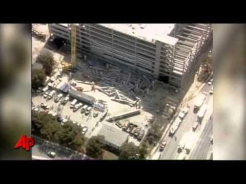 2 Injured in San Antonio Parking Garage Collapse  YouTube