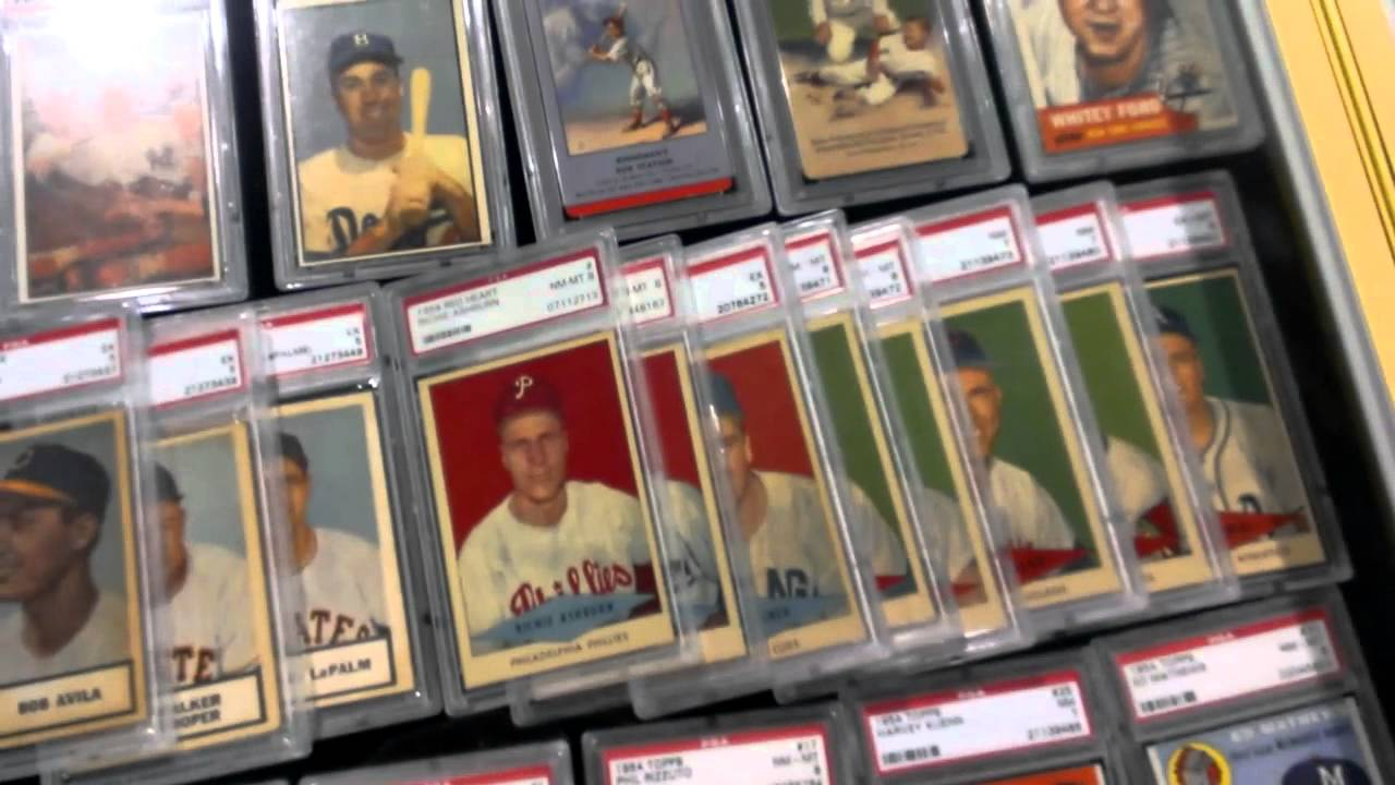 Baseball Card Exchange Booth 2013 National Sports Collectors Convention Nscc Chicago