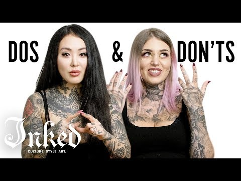 Tattoo Dos And Don'ts With Alisha Gory And Sabrina Nolan | INKED