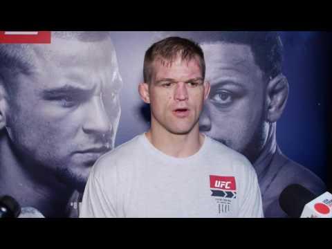 Evan Dunham UFC Fight Night 94 post-fight interview