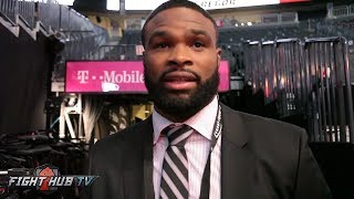 "Tyron Woodley gives Conor McGregor props ""Phenomenal Performance"""