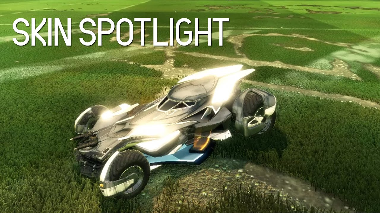 How To Get Batmobile Car Rocket League
