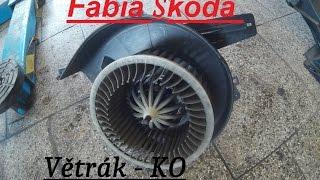 Fabia - Demontáž Větráku, Odporu :) BEZ KOMPRESE (: