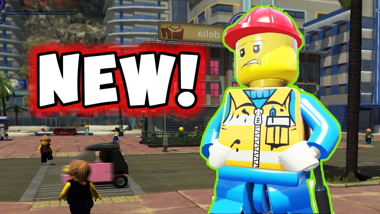 All The Construction Characters in LEGO City Undercover ...