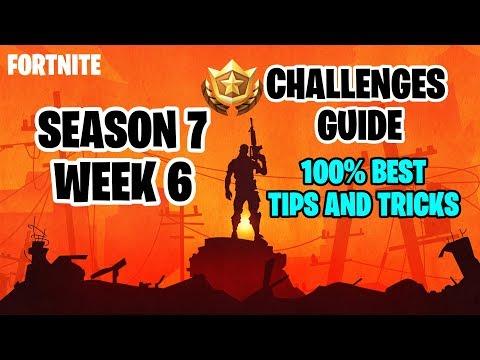 Fortnite Season 7 Week 6 Challenge Guide + Secret Banner Location |Best & Easiest Ways To Finish.