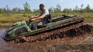 And THIS can be PLANTED??? Tinger all-terrain vehicles in the SWAMP!!!