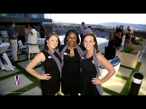 Vantage Luxury Flats & Loft Living REVEAL Event | Luxury Apartments Las Vegas