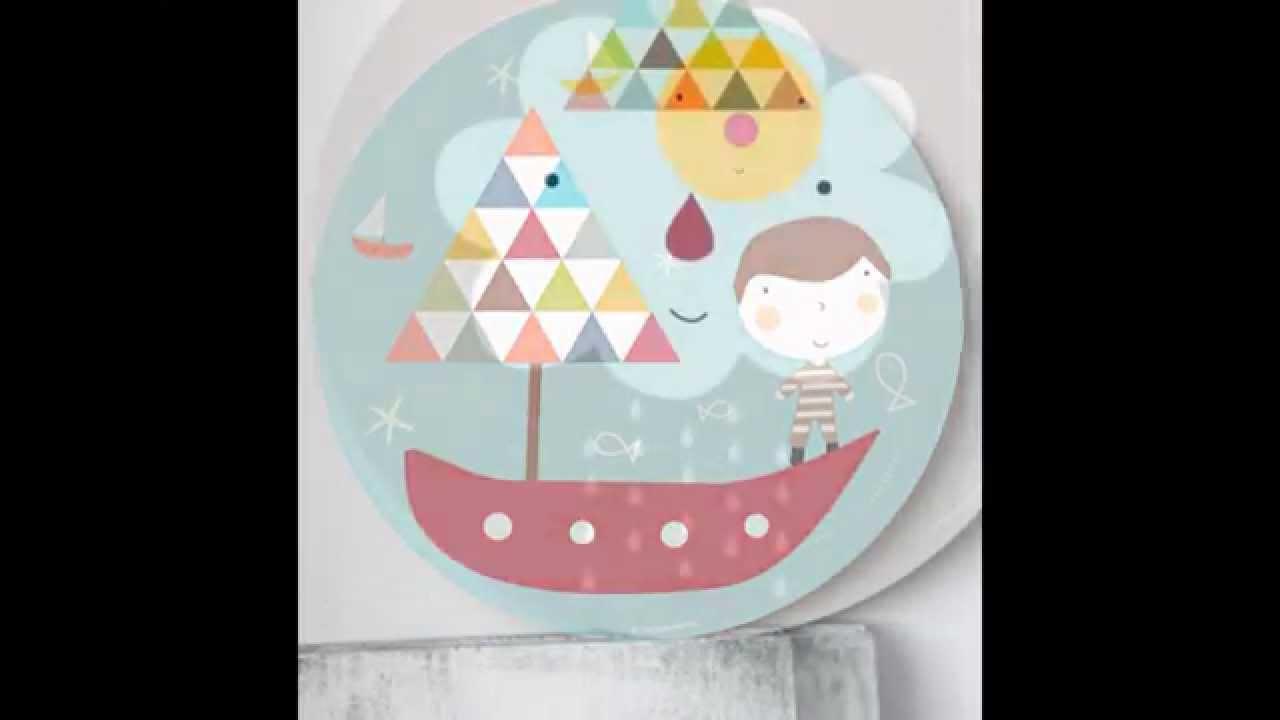 Como decorar paredes de habitaciones de beb s y ni os con cuadros y l minas infantiles youtube - Cuadros para habitaciones infantiles ...