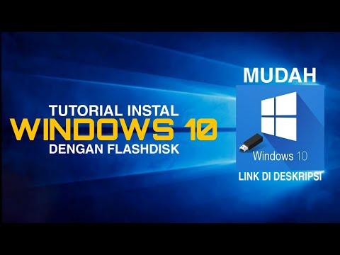 Tutorial Cara Install Ulang Windows 10 Dengan Mudah.