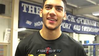 FRANK WARREN PROSPECT HAMZAH SHEERAZ ON WORLD TITLE ASPIRATIONS AND PERFORMING UNDER THE LIGHTS