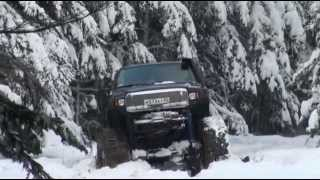 "Ford Excursion ""Fordzilla"", winter test..."