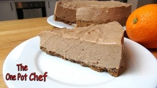 No Bake Chocolate Orange Cheesecake - Recipe