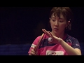 2016グランドファイナル 女子シングルス1回戦 石川佳純vsソ ヒョウォン
