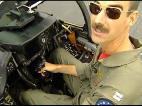 Grumman F-14 Tomcat tour and aerial demonstration