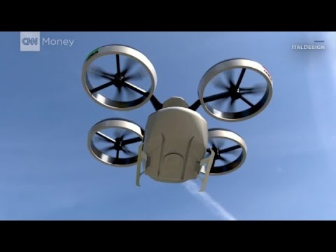 Italian automaker reveals flying machine