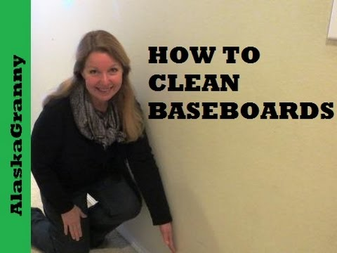 How To Clean Baseboards - Quick and Easy - YouTube