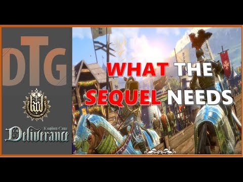 What Warhorse NEEDS TO DO With the Sequel To Kingdom Come Deliverance
