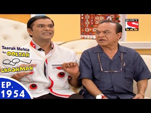 Taarak Mehta Ka Ooltah Chashmah - तारक मेहता - Episode 1954 - 8th June, 2016