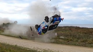 CRAZY RALLY #02 [jumps, crashes, saves, oops moments & more...]