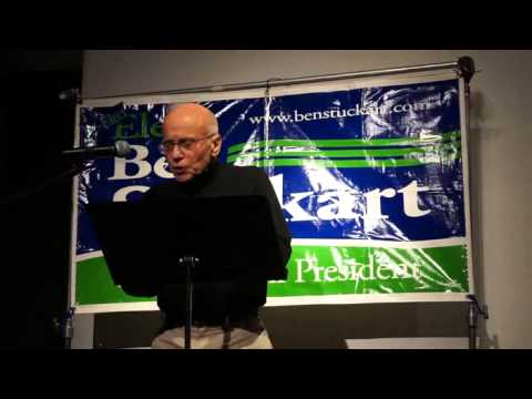 George McGrath gets called out by Bart Haggin at a Ben Stuckart campaign event