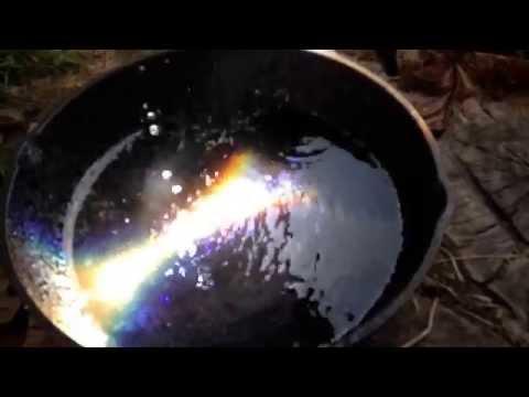 Fresnel lens boiling water