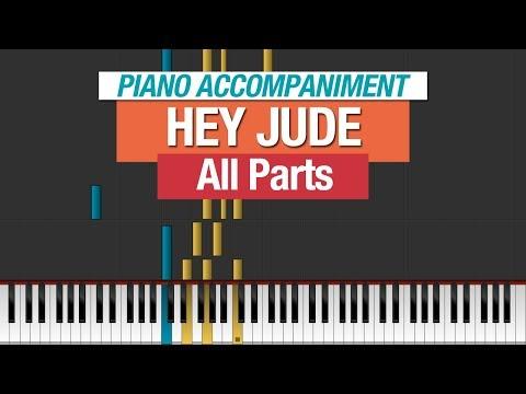 The Beatles - Hey Jude - Piano Tutorial