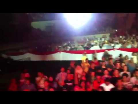 KLa Show Terpurukku Disini at KCMI Tennis Indoor 2013 - Cap