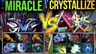 Who's the Late Game Boss? Epic Game Miracle- vs Crystallize Dota2