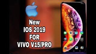 Cara merubah theme ios 2019 vivo v15pro y91 y93 y95 work 100