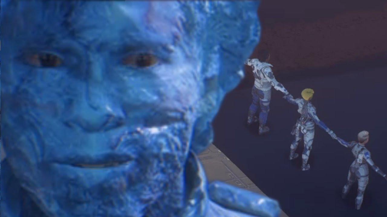 Glitch Effect Andromeda