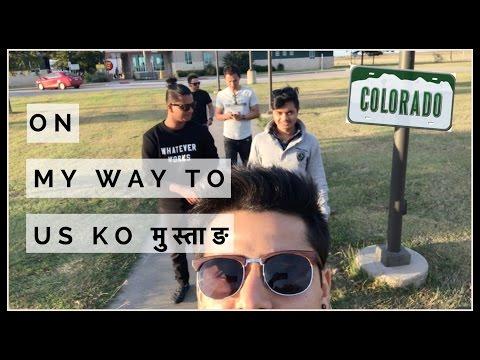 ON MY WAY TO US KO मुस्ताङ ( COLORADO)