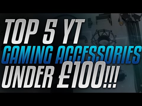 TOP 5 YOUTUBE GAMING TECH ACCESSORIES UNDER £100!!! - CAPTURE, WEBCAM, MICROPHONE AND MORE!!!