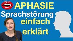 Was ist eine APHASIE? - Sprachstörung nach Schlaganfall, Logopädie