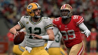 NFL Today 11/24 - Green Bay Packers vs San Francisco 49ers Full Game | NFL Week 12 (Madden)