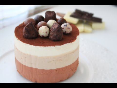 Торт Три шоколада / Triple Chocolate Mousse Cake