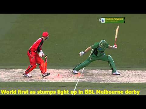 Flashing wickets in Big Bash  Latest innovation in Twenty20