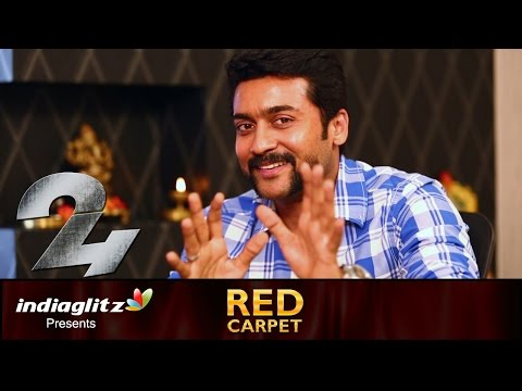 Suriya  : I thank my mom for showing me village life in childhood | 24 Movie | Red Carpet Interview