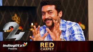Suriya : I thank my mom for showing me village life in childhood | Red Carpet Interview