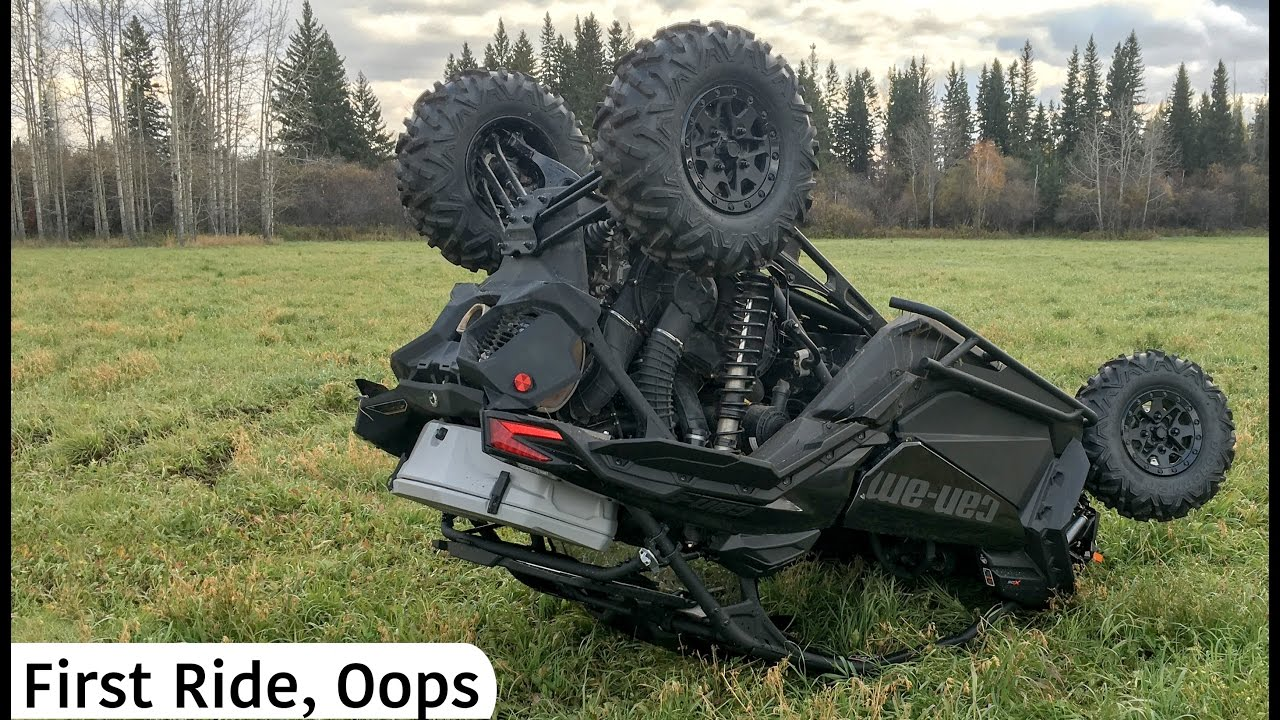 First Ride On The Can Am Maverick X3 Doovi
