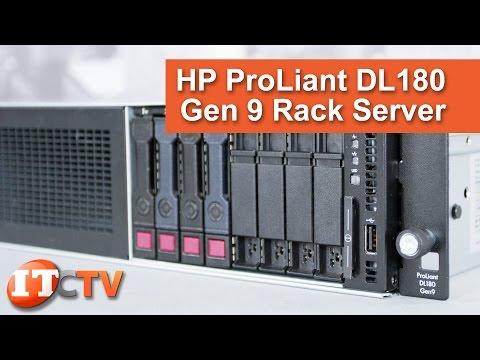 HP ProLiant DL180 Gen9 Rack Server Review - Technical Overview in 4K Video!