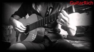 Yiruma - River flows in you (Сумерки) на гитаре соло перебор
