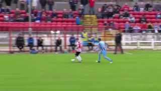 Derry City 2-0 Drogheda United - 23rd May 2014